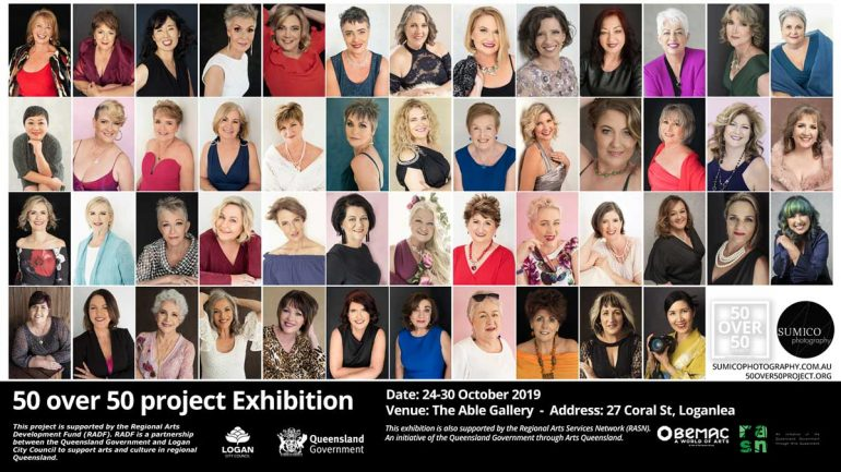 50 over 50 project Exhibition